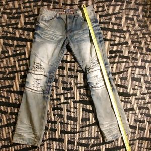 GRAY EARTH JEANS